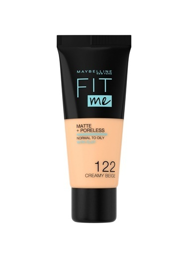 Maybelline Fit Me Matte+Poreless Fondöten - 122 Creamy Beige Ten
